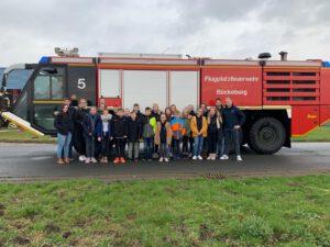 JF besucht Flugplatzfeuerwehr Bückeburg