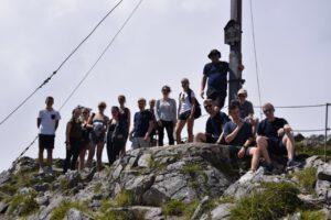 Jugendfeuerwehr Berggipfel erreicht