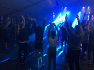 Disko im Zeltlager